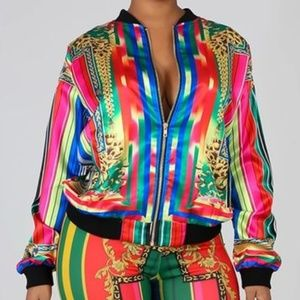Multi-color Jacket